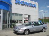 2002 Satin Silver Metallic Honda Accord SE Sedan #28936628