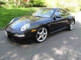Midnight Blue Metallic Porsche 911 in 2007