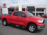 2007 Radiant Red Toyota Tundra SR5 Double Cab 4x4 #29004474