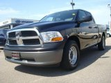 2009 Brilliant Black Crystal Pearl Dodge Ram 1500 SLT Quad Cab #29004612