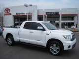 2008 Super White Toyota Tundra Limited Double Cab 4x4 #29004477