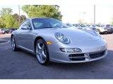 2007 Arctic Silver Metallic Porsche 911 Carrera Coupe #29004999