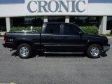 2005 Black Chevrolet Silverado 1500 Z71 Crew Cab 4x4 #29004798