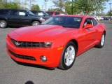 2010 Victory Red Chevrolet Camaro LT Coupe #29004495
