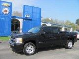 2009 Black Chevrolet Silverado 1500 LT Extended Cab 4x4 #29004651