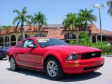 2005 Torch Red Ford Mustang V6 Premium Coupe #29004664