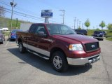 2006 Dark Toreador Red Metallic Ford F150 XLT SuperCab 4x4 #29004695