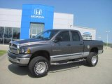 2002 Graphite Metallic Dodge Ram 1500 SLT Quad Cab 4x4 #29005190