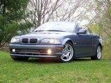 2002 Steel Blue Metallic BMW 3 Series 330i Convertible #29005089
