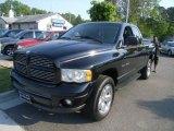 2002 Black Dodge Ram 1500 Sport Quad Cab 4x4 #29005095
