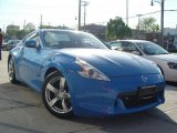 2009 Monterey Blue Nissan 370Z Touring Coupe #29005293