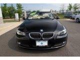 2008 Jet Black BMW 3 Series 335i Convertible #29064528