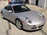 2007 Arctic Silver Metallic Porsche 911 Carrera 4S Coupe #29064536