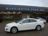 2010 White Platinum Tri-coat Metallic Ford Fusion SEL V6 #29064779