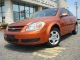 2007 Sunburst Orange Metallic Chevrolet Cobalt LT Coupe #29064591