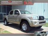 2007 Desert Sand Mica Toyota Tacoma V6 SR5 Double Cab 4x4 #29064843