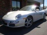 2008 Arctic Silver Metallic Porsche 911 Carrera 4 Coupe #29064631