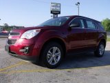 2010 Cardinal Red Metallic Chevrolet Equinox LS #29090829