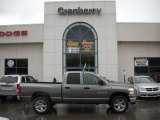 2007 Mineral Gray Metallic Dodge Ram 1500 Big Horn Edition Quad Cab 4x4 #29097373