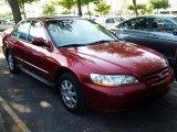 2002 Firepepper Red Pearl Honda Accord SE Sedan #29097229