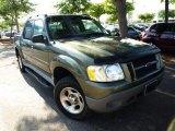 2002 Estate Green Metallic Ford Explorer Sport Trac  #29097230