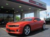 2010 Inferno Orange Metallic Chevrolet Camaro SS/RS Coupe #29097585