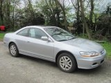 2002 Satin Silver Metallic Honda Accord EX V6 Coupe #29097246