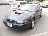 2003 True Blue Metallic Ford Mustang V6 Convertible #29097749