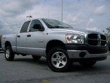 2008 Bright Silver Metallic Dodge Ram 1500 TRX4 Quad Cab 4x4 #29097267
