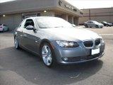 2008 Space Grey Metallic BMW 3 Series 335i Convertible #29097766