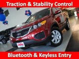 2011 Spicy Red Kia Sorento LX #29097400