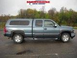 2007 Blue Granite Metallic Chevrolet Silverado 1500 Classic Z71 Extended Cab 4x4 #29097703