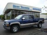 2000 Indigo Blue Metallic Chevrolet Silverado 1500 Z71 Extended Cab 4x4 #29097439