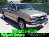 2006 Sandstone Metallic Chevrolet Silverado 1500 Work Truck Extended Cab #29097480