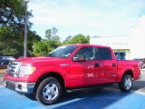 2010 Vermillion Red Ford F150 XLT SuperCrew #29137564