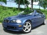2002 Topaz Blue Metallic BMW 3 Series 325i Coupe #29137899
