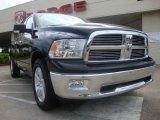 2010 Brilliant Black Crystal Pearl Dodge Ram 1500 Big Horn Quad Cab 4x4 #29138065