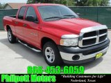 2003 Flame Red Dodge Ram 1500 ST Quad Cab #29137744