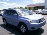 2010 Wave Line Blue Pearl Toyota Highlander  #29137926