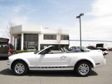 2007 Performance White Ford Mustang V6 Deluxe Convertible #29138082