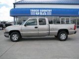 2003 Light Pewter Metallic Chevrolet Silverado 1500 LS Extended Cab 4x4 #29138088
