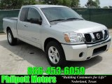2007 Radiant Silver Nissan Titan XE King Cab #29137748