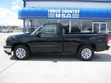 2007 Black Chevrolet Silverado 1500 Classic Work Truck Regular Cab #29138093