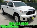 2007 Super White Toyota Tundra Regular Cab 4x4 #29137749