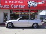 2004 Titanium Silver Metallic BMW 3 Series 325i Convertible #29137771