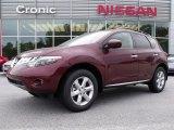2010 Merlot Red Metallic Nissan Murano SL #29137786