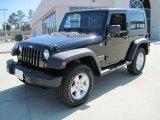 2010 Black Jeep Wrangler Sport 4x4 #29137996