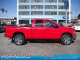 2004 Flame Red Dodge Ram 1500 SLT Quad Cab 4x4 #29137653