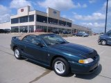 1997 Ford Mustang Pacific Green Metallic