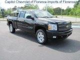 2010 Black Granite Metallic Chevrolet Silverado 1500 LT Extended Cab 4x4 #29138191
